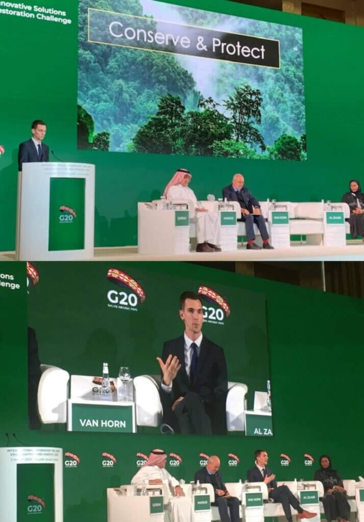 The Speaker from ETH Zurich has the Floor – Crowther Lab goes to the G20